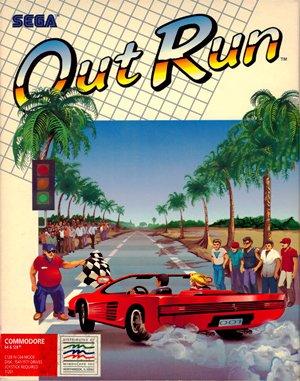 OutRun DOS front cover