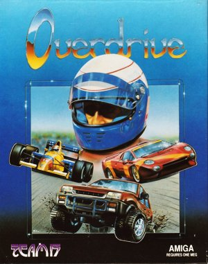 Overdrive DOS front cover