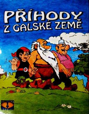 Příhody z Galské země DOS front cover
