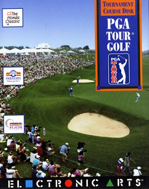 PGA Tour golf DOS front cover