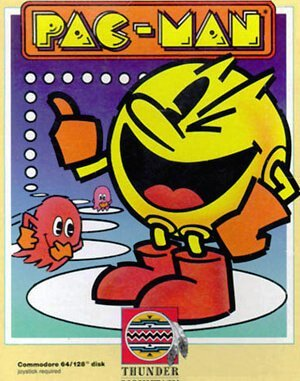 Pac-Man DOS front cover
