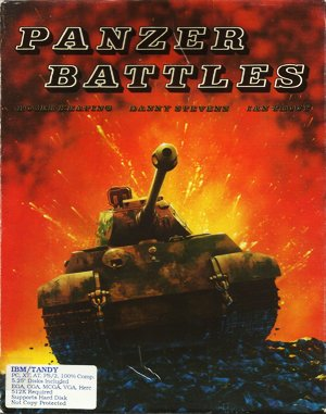 Panzer Battles DOS front cover