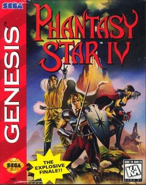 Phantasy Star IV Sega Genesis front cover