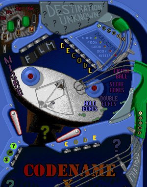 Pinball 4000 DOS front cover