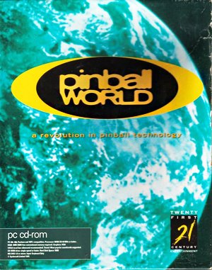 Pinball World DOS front cover