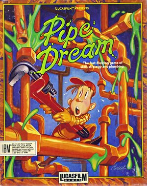 Pipe Dream DOS front cover