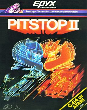 Pitstop II DOS front cover