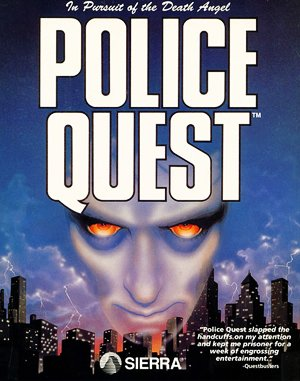 Police Quest: In Pursuit of the Death Angel VGA DOS front cover