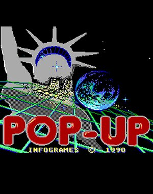 Pop-Up DOS front cover