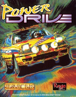 Power Drive DOS front cover