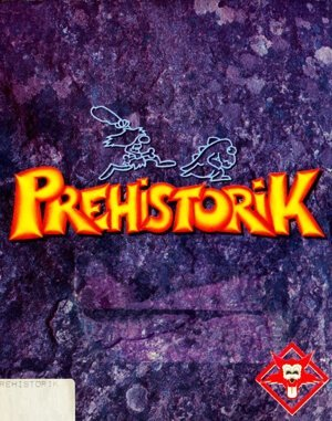 Prehistorik DOS front cover