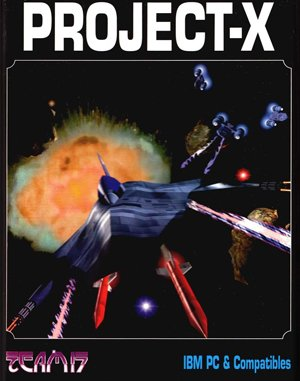 Project-X DOS front cover