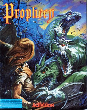 Prophecy: The Fall of Trinadon DOS front cover