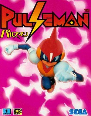 Pulseman Sega Genesis front cover