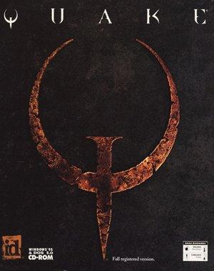 Quake DOS front cover