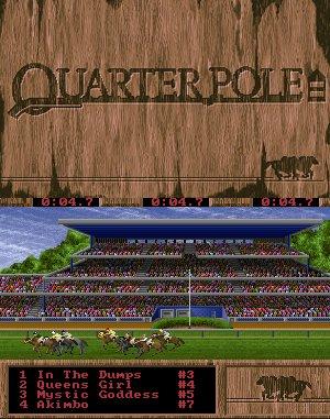 QuarterPole DOS front cover