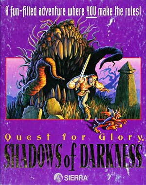 Quest for Glory IV: Shadows of Darkness DOS front cover