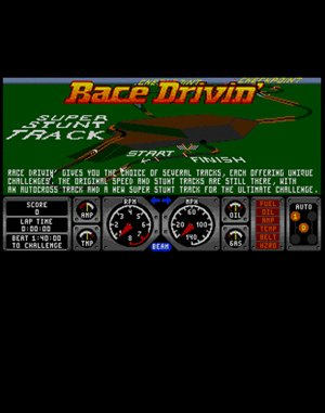 Race Drivin' DOS front cover