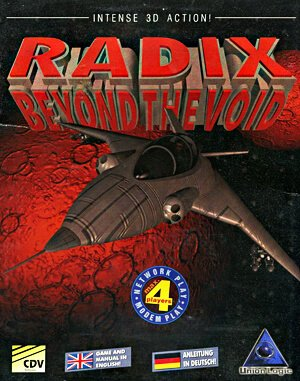 Radix: Beyond the Void DOS front cover