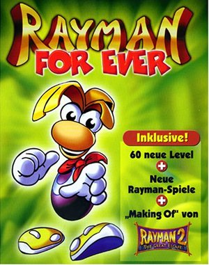 Rayman Forever DOS front cover