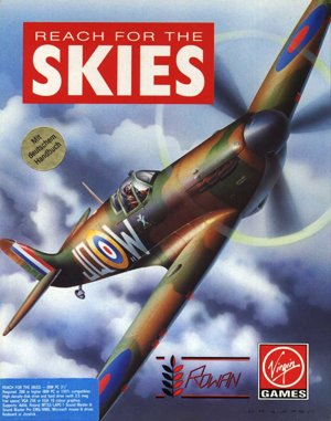Reach for the Skies DOS front cover