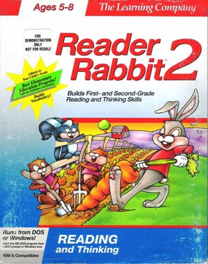 Reader Rabbit 2 DOS front cover