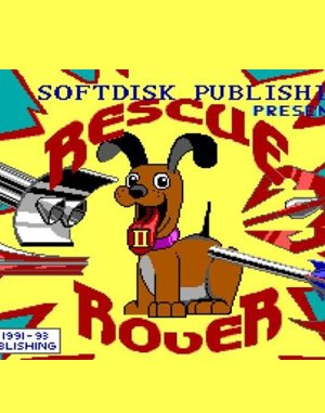 Rescue Rover 2 DOS front cover