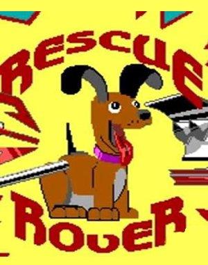 Rescue Rover DOS front cover