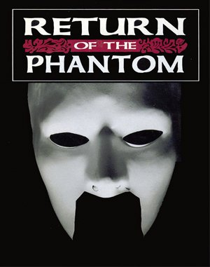 Return of the Phantom DOS front cover