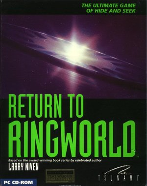 Return to Ringworld DOS front cover