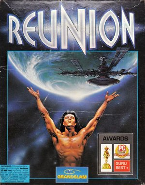 Reunion DOS front cover