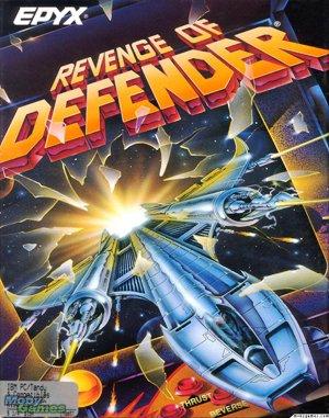 Revenge of Defender DOS front cover