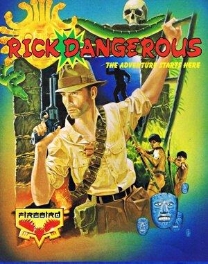 Rick Dangerous DOS front cover
