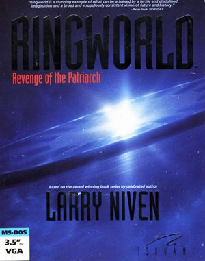 Ringworld: Revenge of the Patriarch DOS front cover