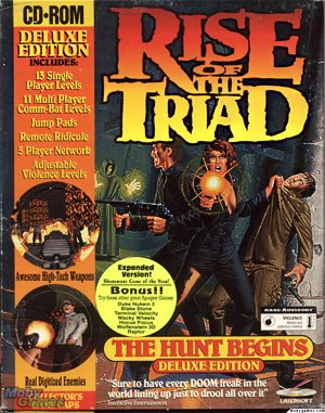Rise of the Triad: The HUNT Begins DOS front cover
