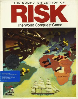 Risk DOS front cover