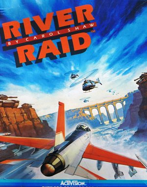River Raid DOS front cover