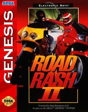Road Rash 2 Sega Genesis front cover