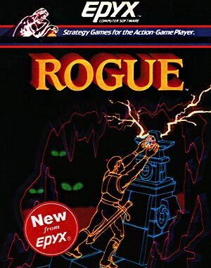 Rogue DOS front cover