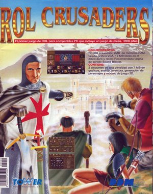 Rol Crusaders DOS front cover