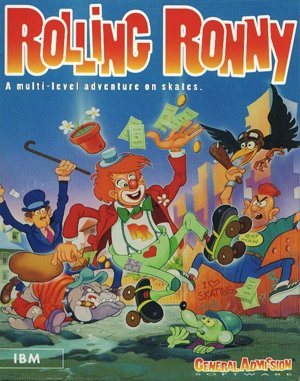 Rolling Ronny DOS front cover