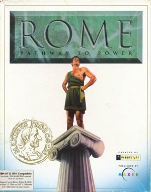 Rome: Pathway to Power DOS front cover