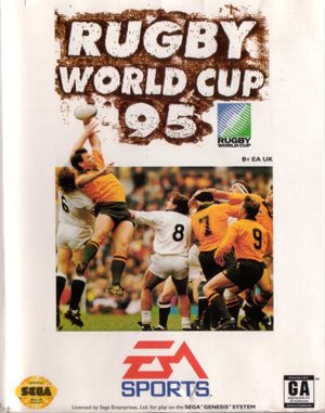 Rugby World Cup 95 DOS front cover