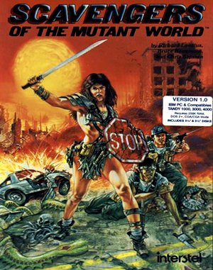 Scavengers of the Mutant World DOS front cover