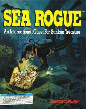 Sea Rogue DOS front cover