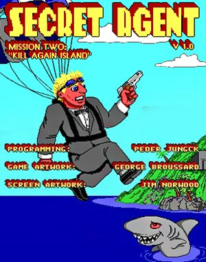 Secret Agent: Mission 2 – Kill Again Island DOS front cover