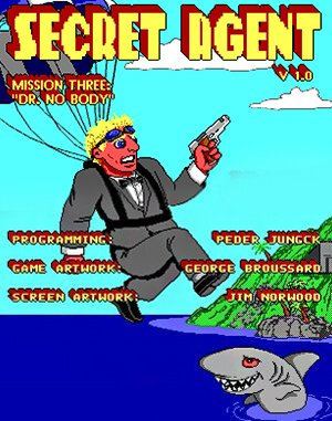 Secret Agent: Mission 3 – Dr. No Body Online DOS front cover