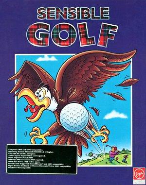Sensible Golf DOS front cover