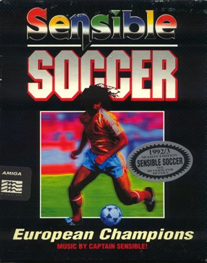 Sensible Soccer: European Champions – 92/93 Edition DOS front cover