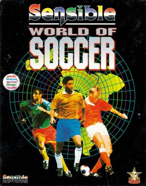 Sensible World of Soccer DOS front cover